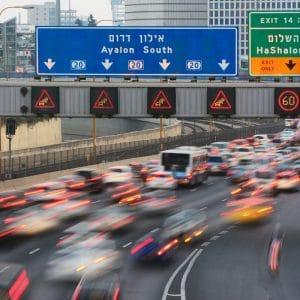 כמה זמן לוקח להגיע למרכז תל אביב
